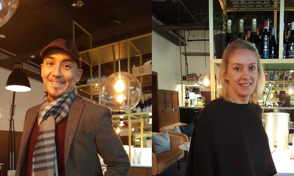 Ronald Rico och Johanna Viborg, RED