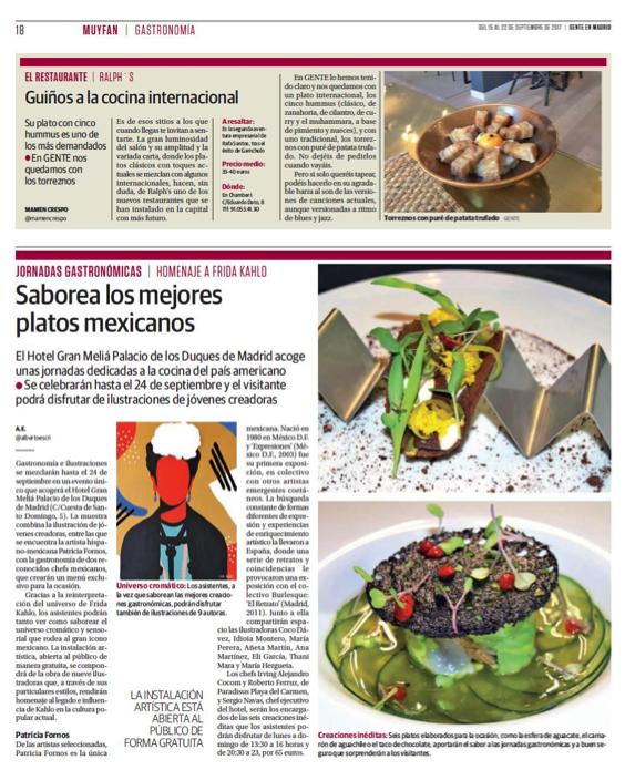 Restaurante Ralphs en revista