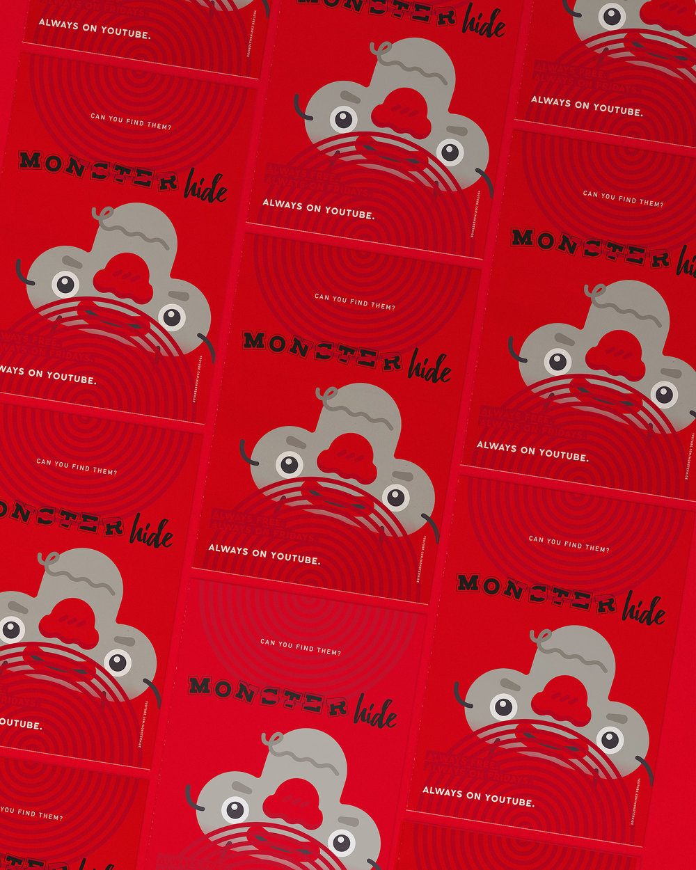 monsterhide professor cards