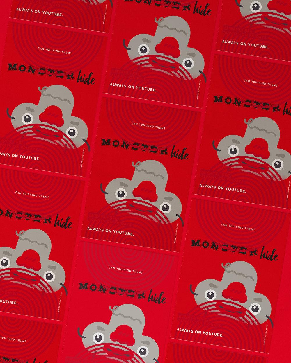 monsterhide professor cards