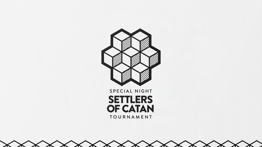Draughts Settlers of Catan Tournament Icon