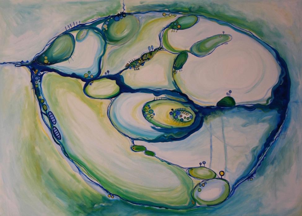 Mindmap (homage to Olsens Five Bells)