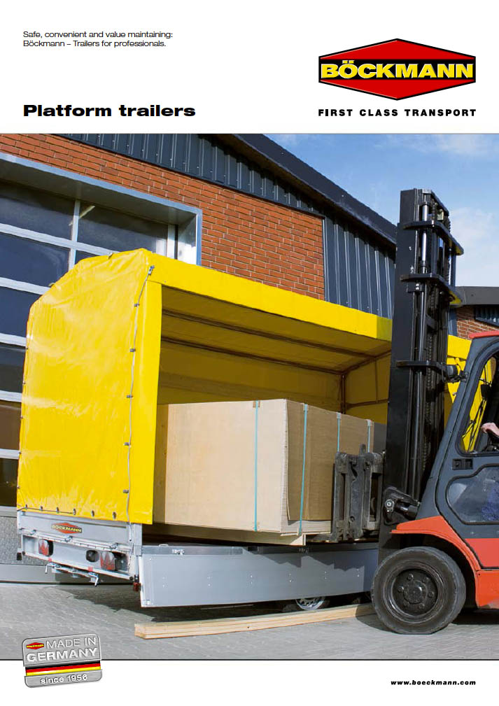 brochure platform trailers