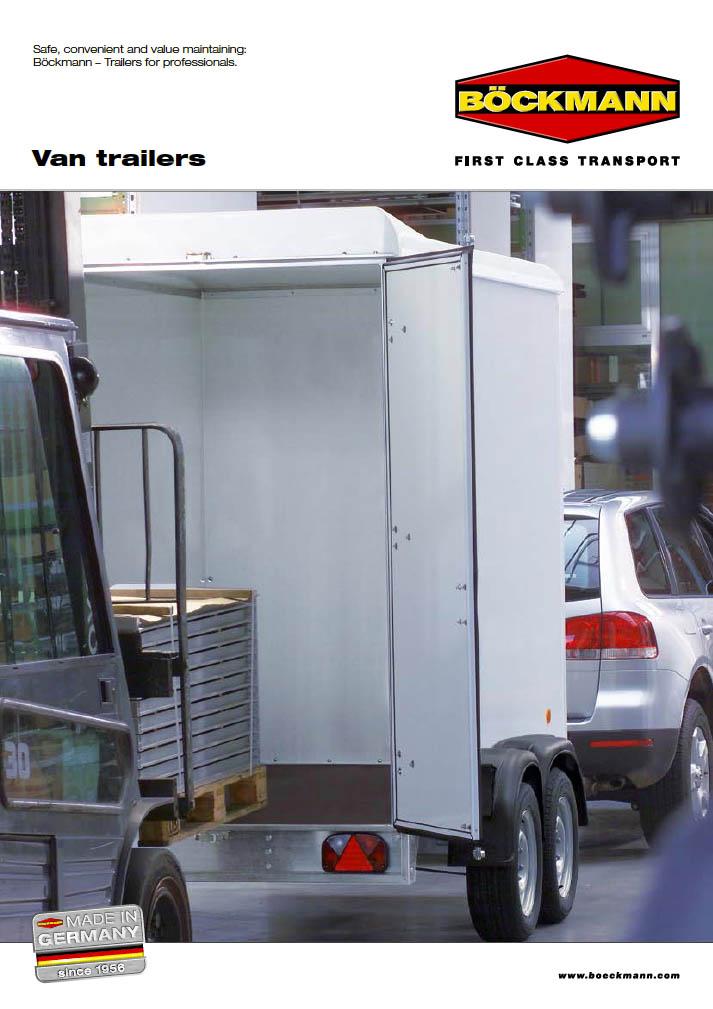 Boeckmann van trailers