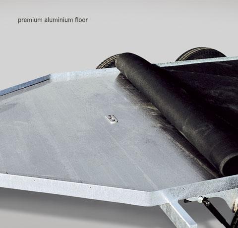 Copy of Aluminium floor