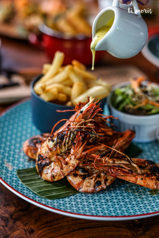 Grilled Things (selection of  Tiger Prawn  / Chicken / Fish)