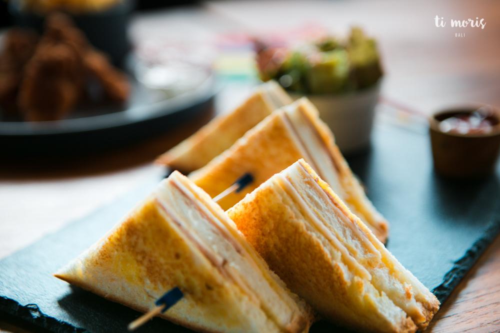 Kids Corner - Ham & Cheese Toasted Sandwich
