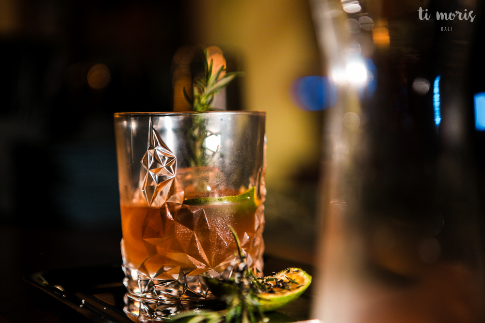 Smoked Rosemary Old Fashioned