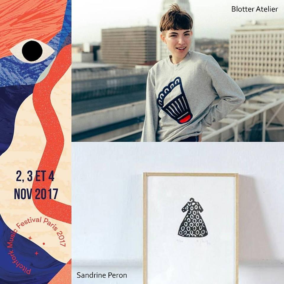 Blotter atelier & Sandrine Peron
