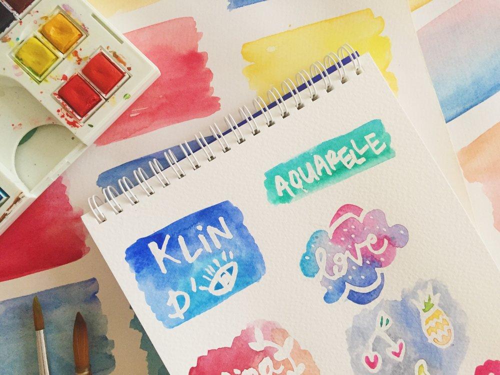 Atelier DIY Aquarelle : Catmini - Klin d'oeil 14.jpg
