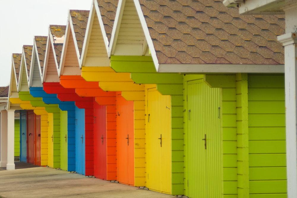 Beach Huts, Scarborough