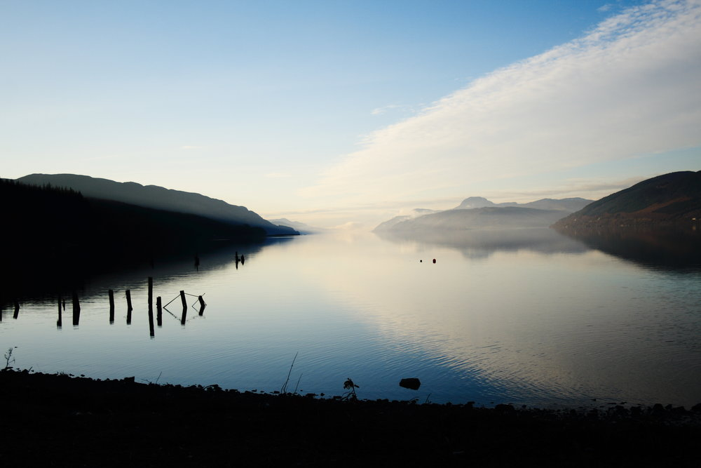 Loch Ness from Dores Beach