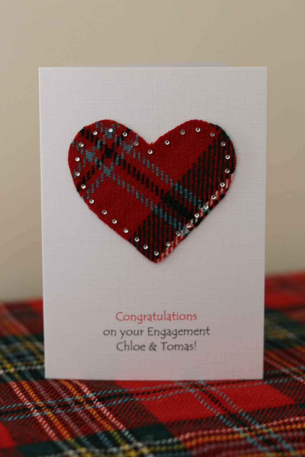 Sample Engagement card
