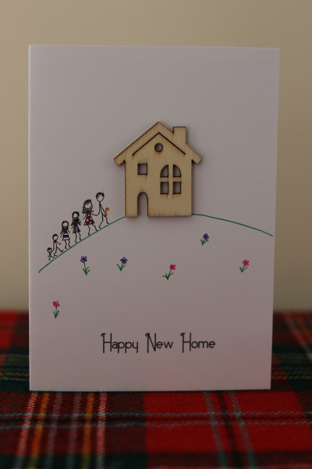 Sample New Home card