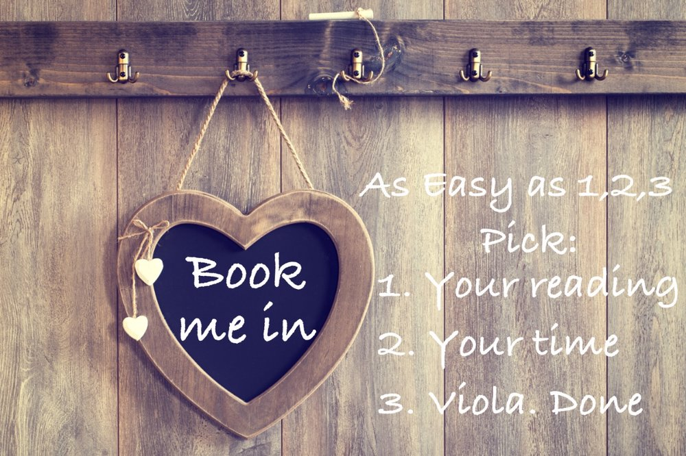Book me in - David William Psychic Medium