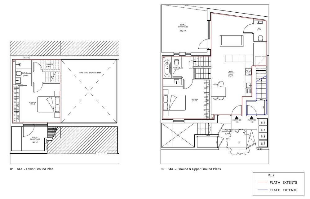 Blenheim Grove - Floor Plan - Apt 64A.JPG