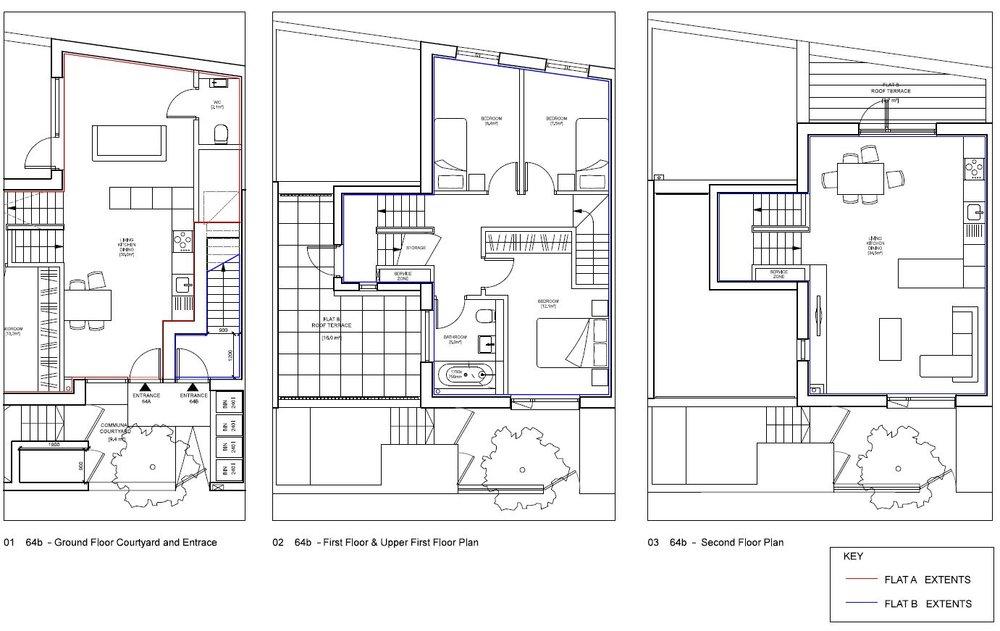 Blenheim Grove - Floor Plan - Apt 64B.JPG