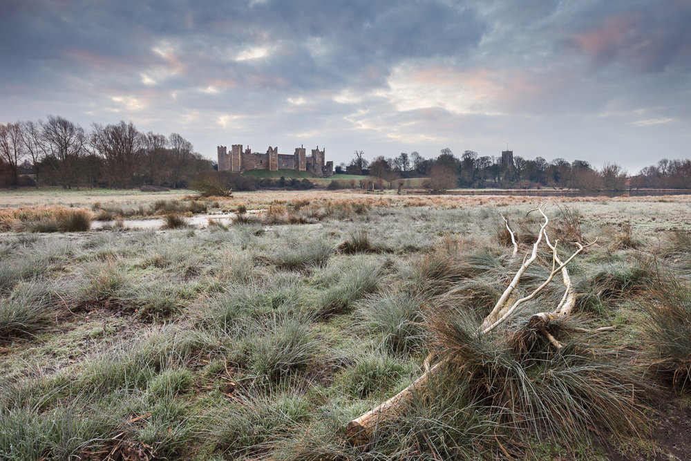 February - Framlingham Castle, Suffolk