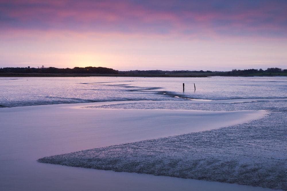 The Alde at low tide