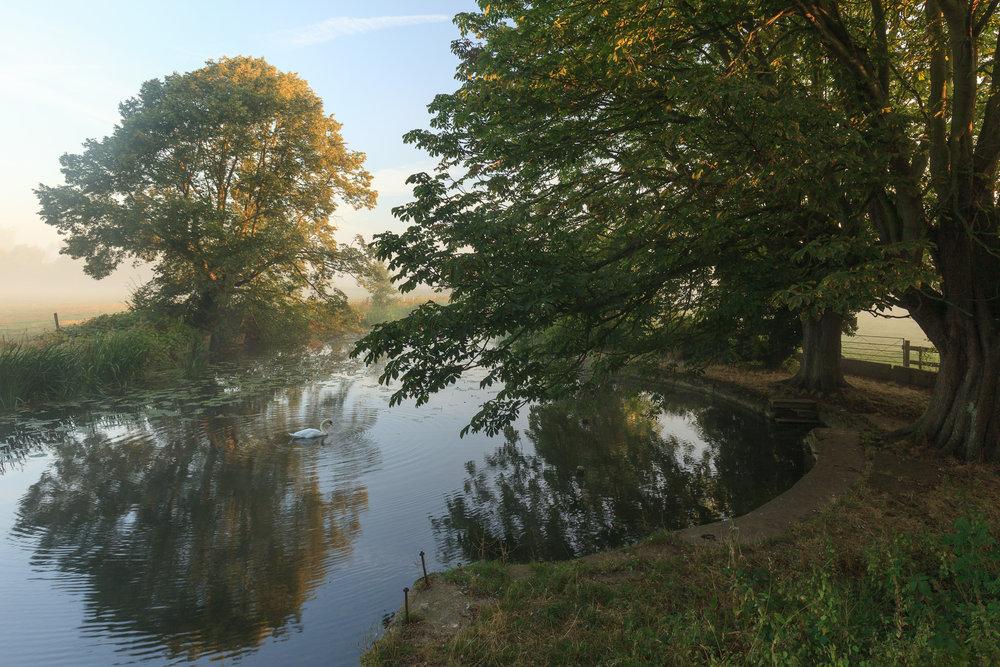The old bathing pool - Sudbury, Suffolk
