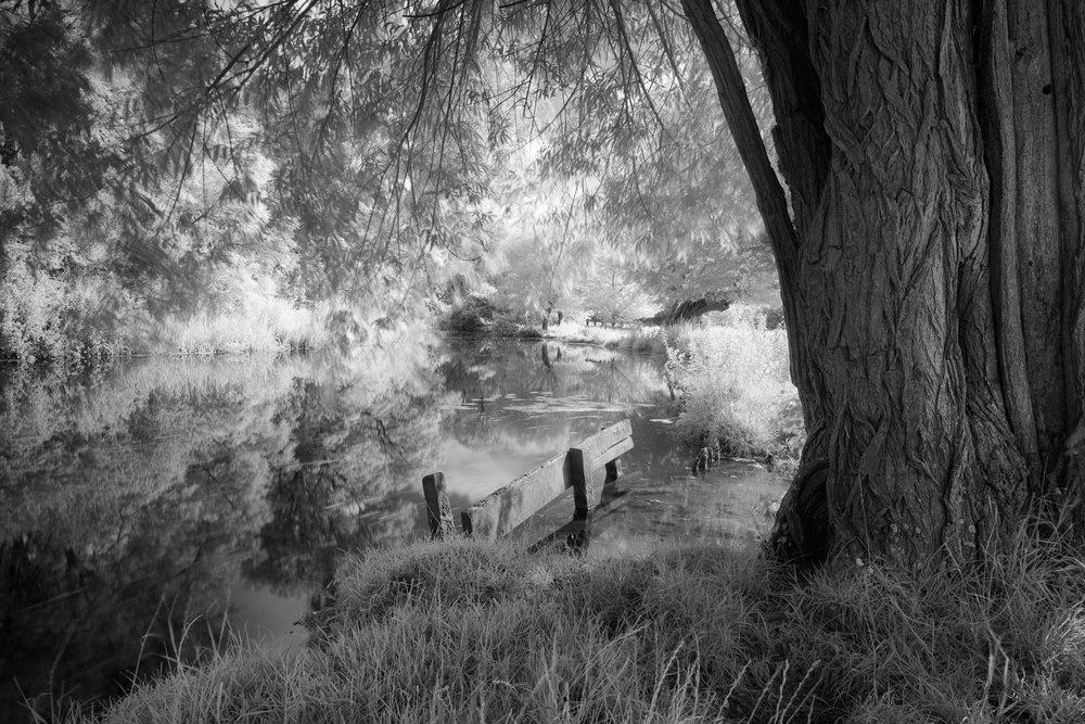 Summer reflections - Flatford, Suffolk