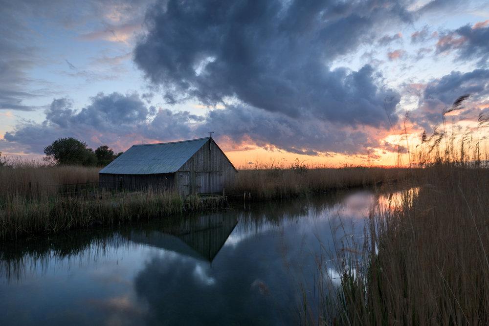 The boatshed - West Somerton, Norfolk