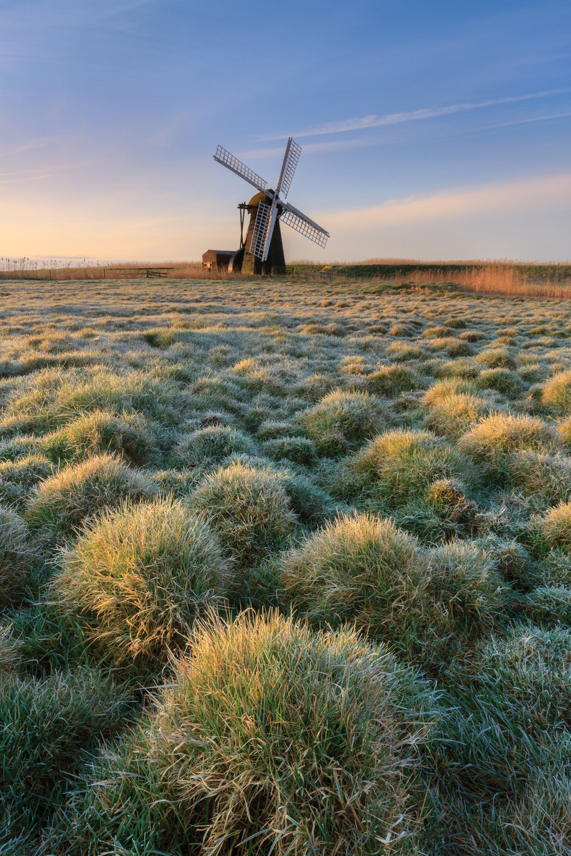 Sidelight on Herringfleet windpump, Suffolk