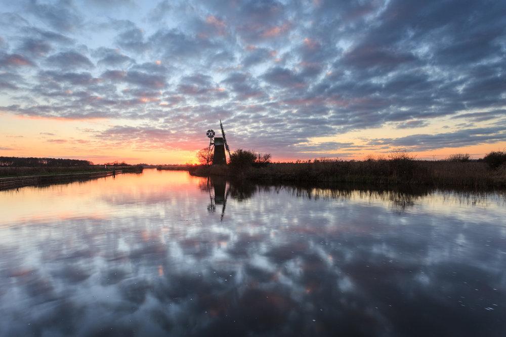Reflecting - Turf Fen, Norfolk