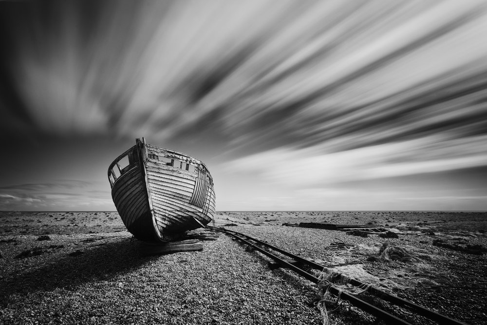 Passage of time - Dungeness, Kent