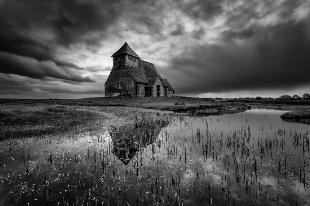 Church on the marsh - Fairfield Church, Kent