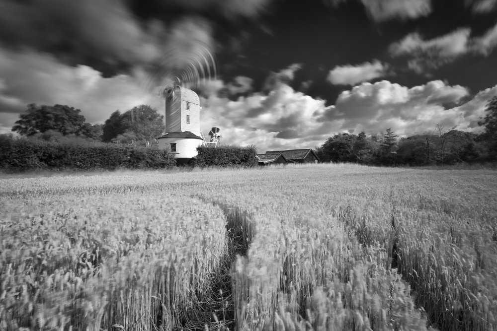 Windy - Saxtead Green, Suffolk
