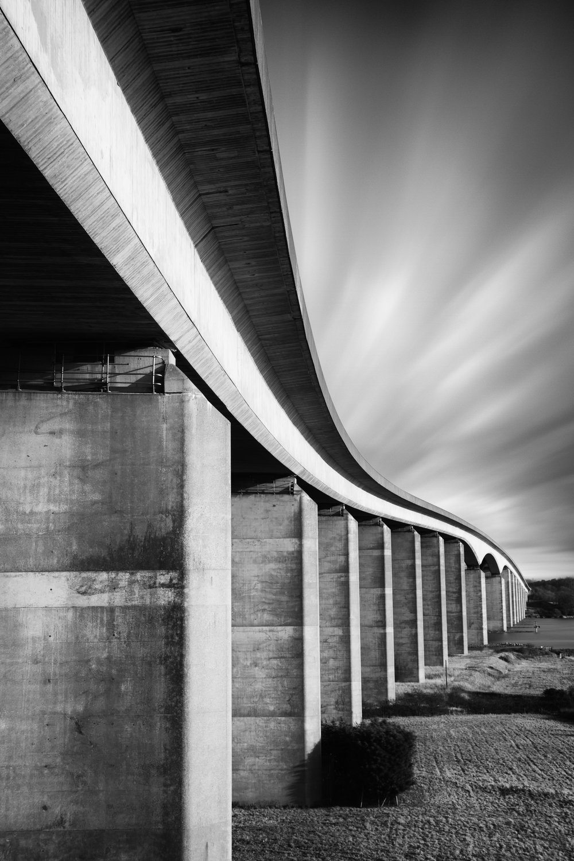 Snaking - Orwell Bridge, Suffolk