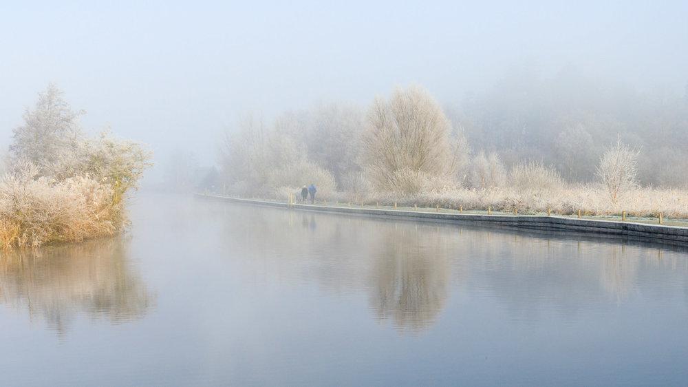 Winter wonderland - Turf Fen, Norfolk