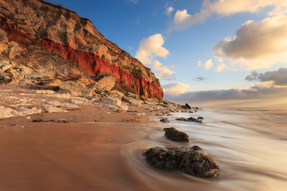Red cliffs - Hunstanton, Norfolk