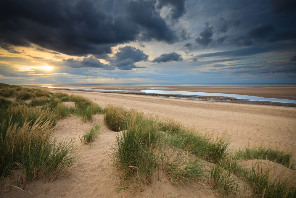The walk to Holkham, Norfolk