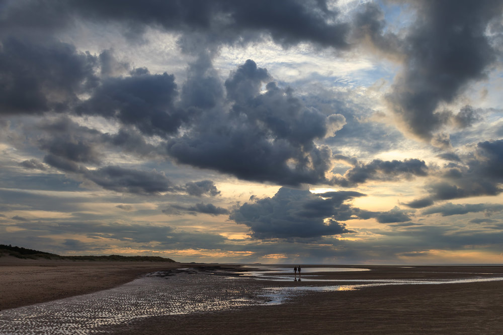 A walk on the beach - Holkham, Norfolk