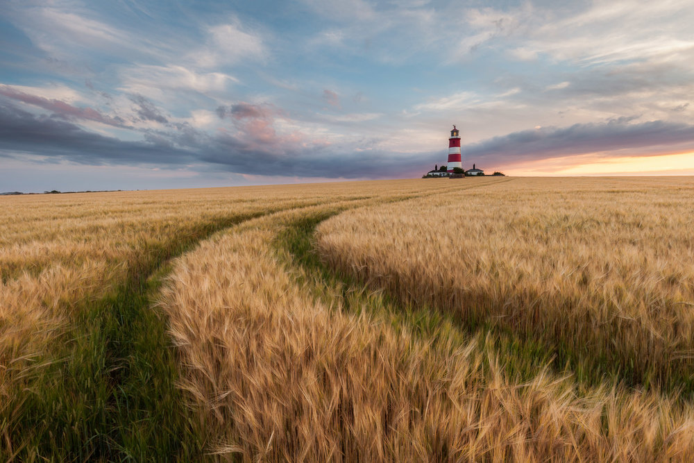 The lighthouse at Happisburgh, Norfolk