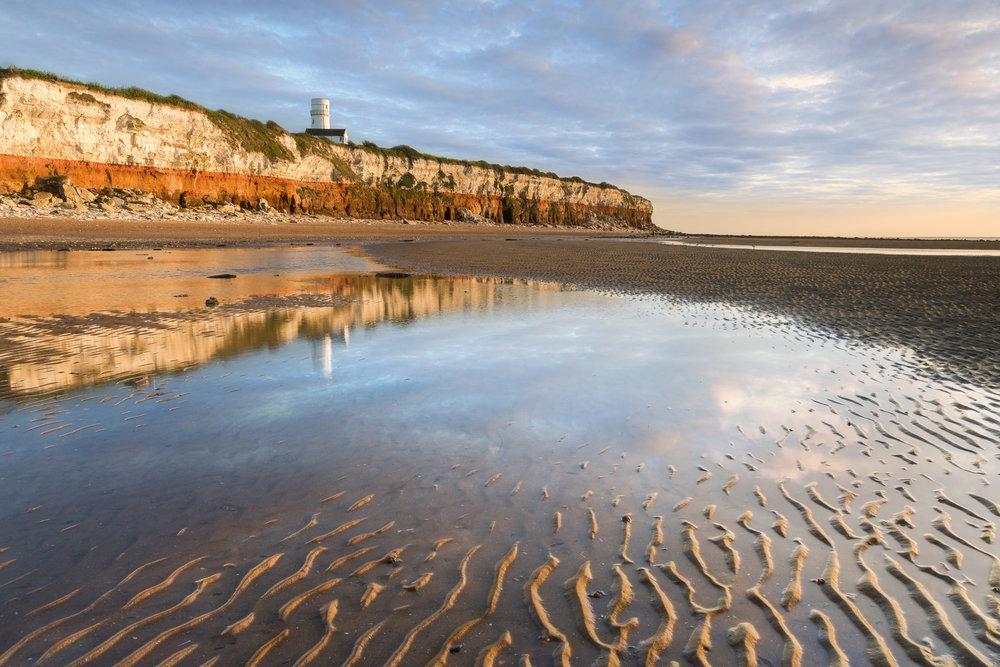 Low tide at Old Hunstanton, Norfolk