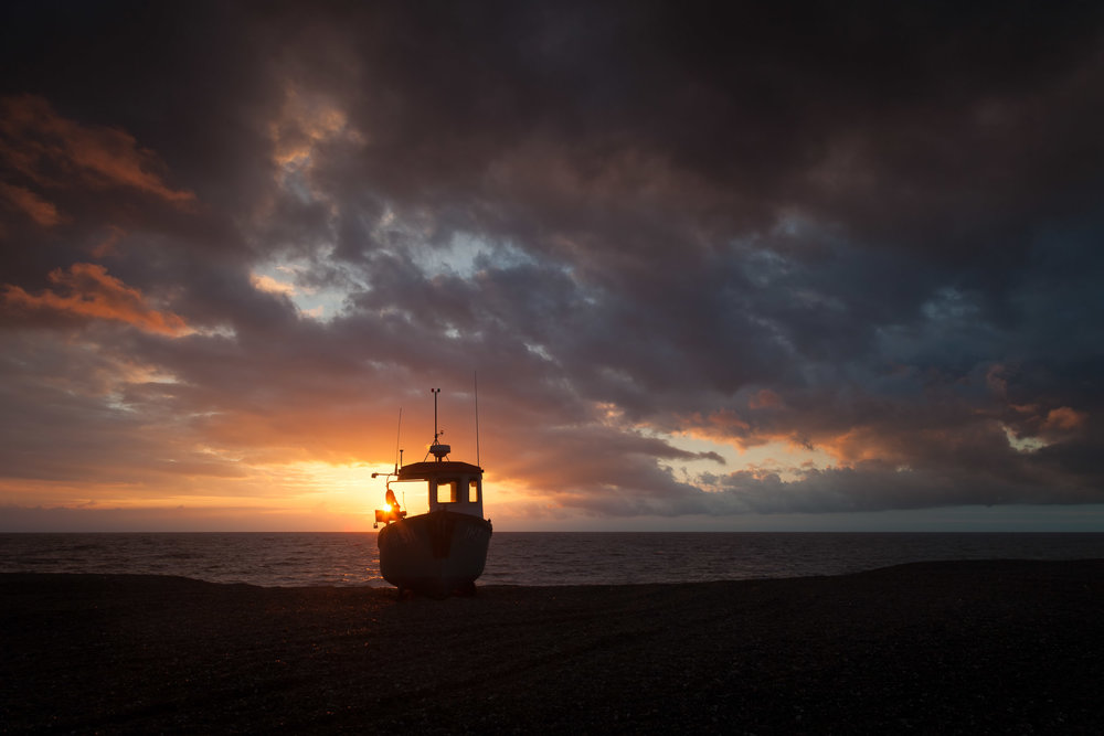 Silhouette - Aldeburgh, Suffolk