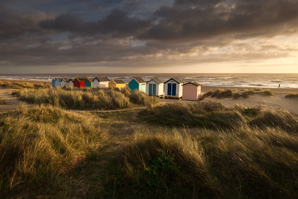 In the dunes - Southwold, Suffolk