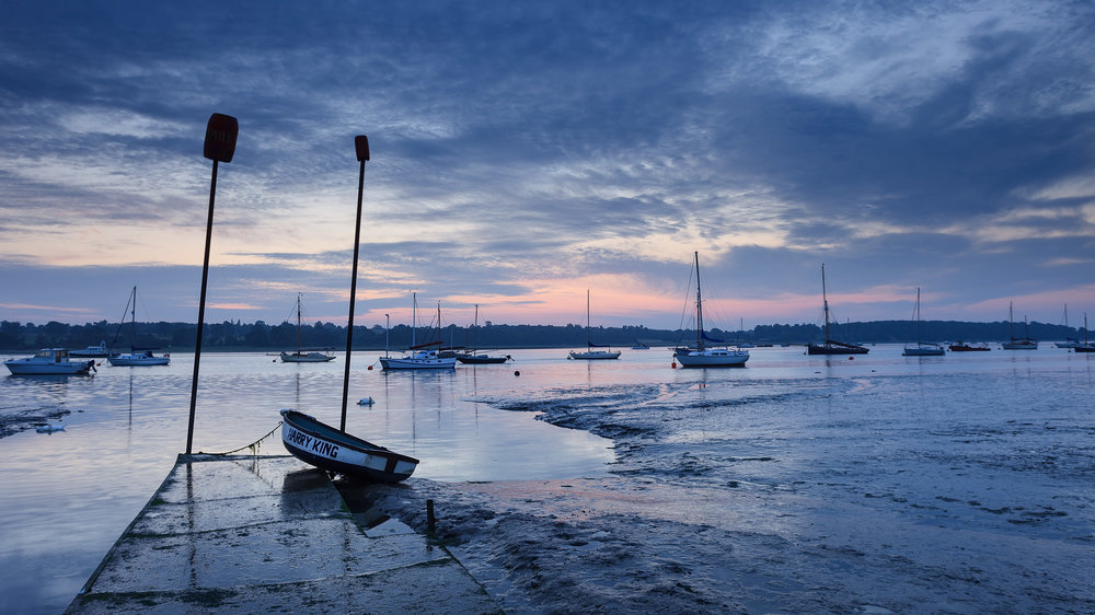 Harry King at Pin Mill, Suffolk
