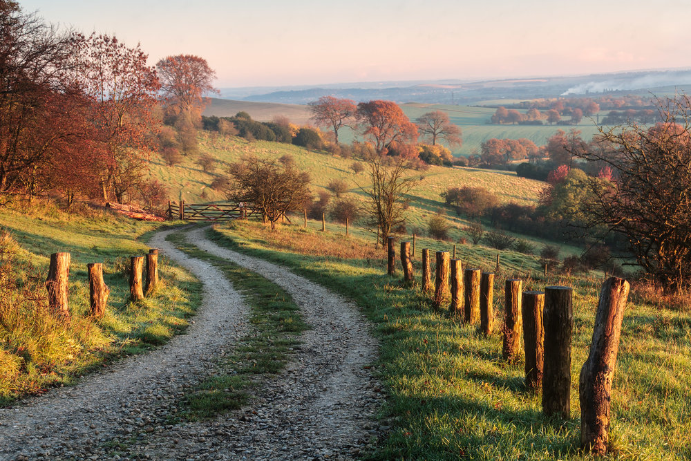 Around the bend - Ivinghoe, Hertfordshire