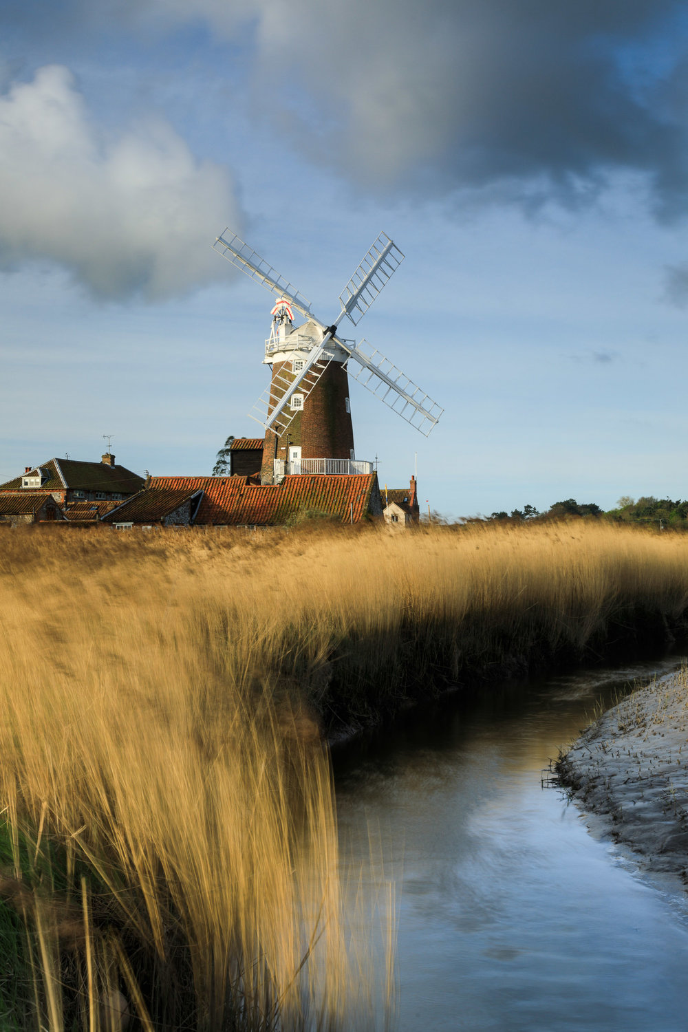 The windmill at Cley, Norfolk