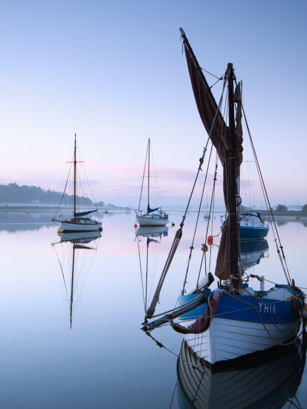 Blue hour - Woodbridge, Suffolk