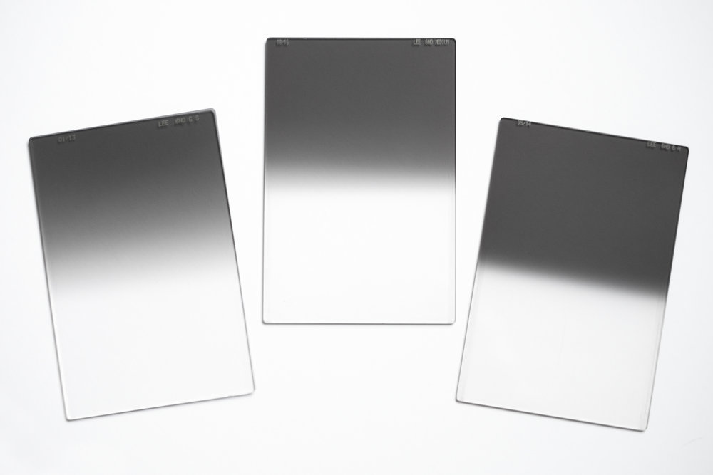 Soft, medium and hard graduated filters