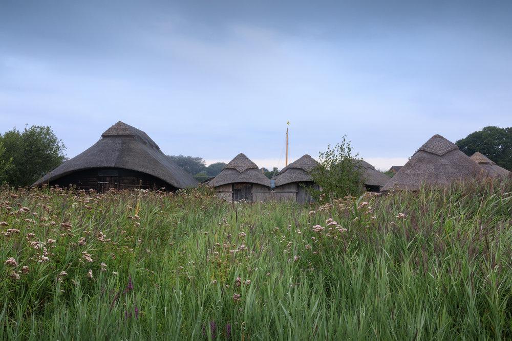 Boat houses - Hickling Broad, Norfolk