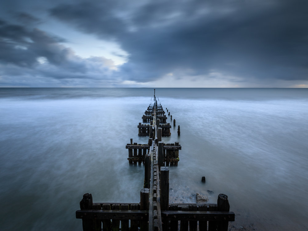 Dawn at Overstrand, Norfolk
