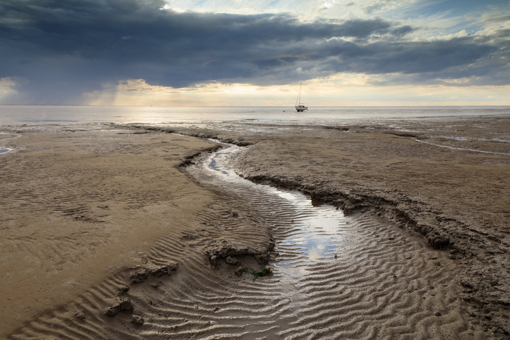 Low tide at Snettisham, Norfolk