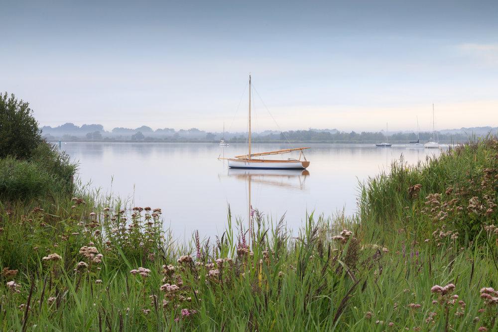 Dead calm - Hickling Broad, Norfolk