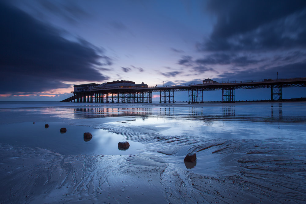 Blue hour at Cromer, Norfolk